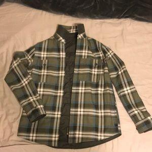 Reversible LL Bean Flannel/ Jacket